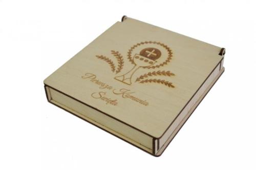 6282ea9613 Pudełko prezentowe Komunia Św. - wzór 1 O!pole Manufaktura